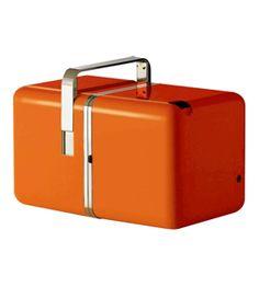 richard sapper + marco zanuso: #orange cube radio #radio