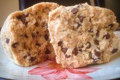 Enjoying Food: Protein Cookie Dough Protein Cookie Dough, Protein Cookies, Aloha Protein, Experiment, Balls, Muffins, Breakfast, Cake, Desserts
