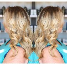 Best way to grow out blonde highlights? Hair Painting :: RedBloom Salon
