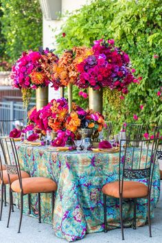La Tavola Fine Linen Rental: Enchantress Mulberry   Photography: Jaime Davis Photography, Floral Design: The Hidden Garden, Venue: The Four Season Hotel Westlake Village, Rentals: Archive Rentals and Classic Party Rentals
