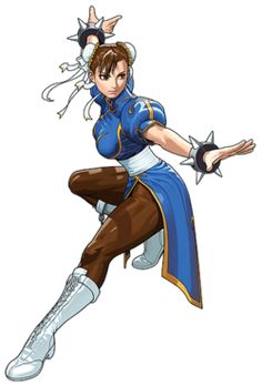 Chun-Li is presented as a woman with a strong sense of justice, and her motives for fighting crime range from avenging the death of her fathe Chun-Li tatsunoko.png