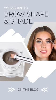 Your Guide to Brow Shape & Shade – Plume Hair & Lash Science Brow Serum, Brow Pomade, Brow Color, Natural Brows, Brow Shaping, Color Shapes, Let Them Talk, Skin Tone, Lashes