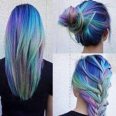 Multicoloured hair❤️❤️❤️