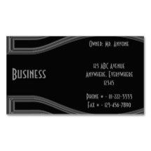 Customizable Business Card designed by Gina Lee Manley ©gleem
