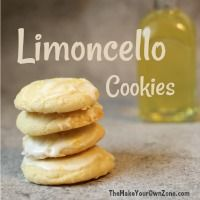 Recipe for Limoncello cookies - soft and chewy homemade cookies with just a touch of limoncello for delicious lemon flavor. Cookie Desserts, Cookie Recipes, Dessert Recipes, Italian Cookies, Italian Desserts, Italian Recipes, Homemade Baileys, Biscuits, Limoncello