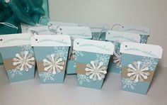 Coffee-to-go tags I made with the help of Penny Smiley's wonderfully written tutorial. Made by Jeanie Tavitas-Williams  #stampinup