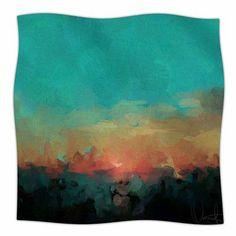 "East Urban Home Martinique by Oriana Cordero Fleece Blanket Size: 90"" L x 90"" W"