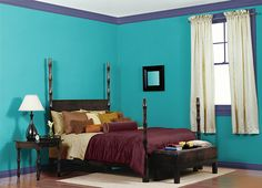 Yoga Room Colors exercise room paint colors | yoga room: love the paint color