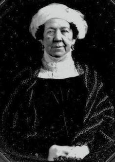 1840s daguerreotype of Dolley Madison