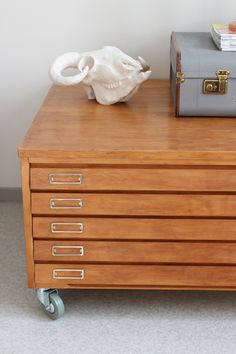 Wooden flat file~~~ I want this~~~