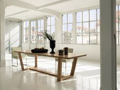 modern wooden dinner tables - Google Search