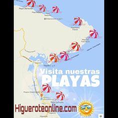 Playas de Higuerote. Cuál te falta conocer? #corrales #caimán #majagua…