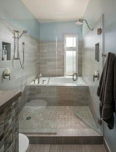 39 meilleures images du tableau salle de bain couloir | Bathroom ...