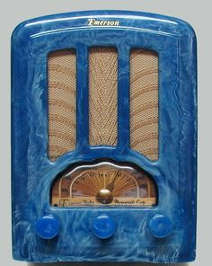 Catalin Emerson Tube Radio