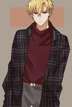 King Gilgamesh, Gilgamesh And Enkidu, Fate Zero, Cute Anime Boy, Cute Anime Couples, Anime Boys, Manga Anime, Anime Art, Fate/stay Night