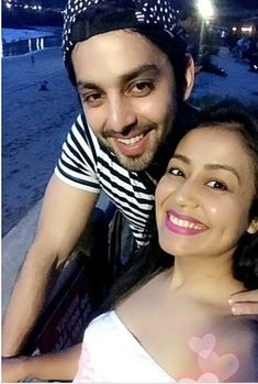 Neha kakkar is madly in love with himansh kohli Cute Couples Goals, Couple Goals, Disney Kiss, Aesthetic Memes, Neha Kakkar, Picture Outfits, Girls Selfies, Madly In Love, Young Couples