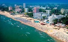 Burgas Bulgaria the country's most important sea port on the Black Sea