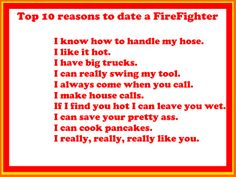 things happen dating firefighter