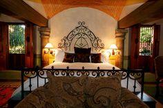 Mexican Hacienda Bedroom