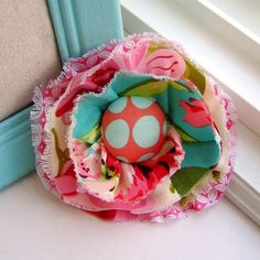 Cute little fabric bow for the baby