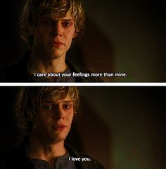 Tate / American Horror Story... right there makes me love him gosh