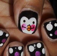 penguin maybe for a pedicure in the winter