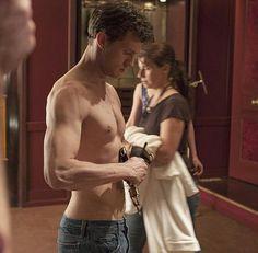 Jamie Dornan #FiftyShades #BehindtheScenes