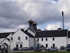 Dalwhinnie distillery@ Highland, Scotland