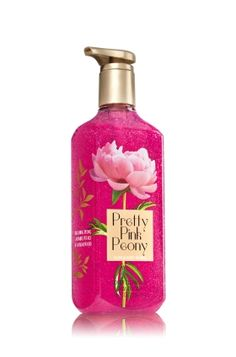 Pretty Pink Peony - Deep Cleansing Hand Soap - Bath & Body Works - Like a 60-second manicure, our Deep Cleansing Hand Soap is specially formulated to effectively cleanse and exfoliate, while conditioning Aloe and Vitamin E leave hands feeling soft and smooth.