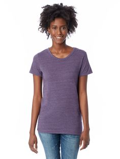 Crafted from our signature Eco Jersey triblend, the Ideal Tee is a perfect go-to tee with a flattering straight body comfortable enough for the everyday. <span>Made in a WRAP-certified Factory</span>
