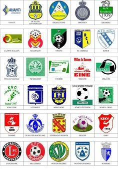 5893ffc388afd Bélgica - Pins de escudos insiginas de equipos de fútbol.