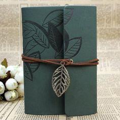 Vintage Kladde Tagebuch Notizbuch Notebook Skizzenbuch PU Lederbuch Lose Blatt: Amazon.de: Bürobedarf & Schreibwaren
