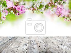Fotobehang Voorjaar bloeit achtergrond