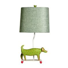 StyleCraft Home Collection L11085DS Mini Iron Dog Lamp