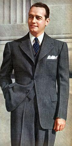 En väst är att rekommendera. Det höjer varje outfit. Montgomery Ward 1943