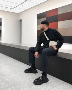 Jaime Beriestain Studio in Barcelona for Adrienne Donnelly Mode Streetwear, Streetwear Fashion, Korean Fashion, Mens Fashion, Fashion Pics, Style Fashion, Outfits Hombre, Minimal Outfit, Stylish Mens Outfits
