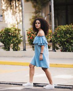 Jeans + ombro a ombro = amô ✨ #ootd #intimasdaray l vestido #zara @tanainne