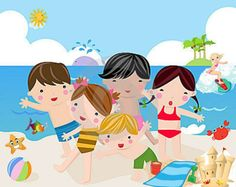 FUN Day at the Beach Yoga Theme ideas for kids BY KIDS!!!