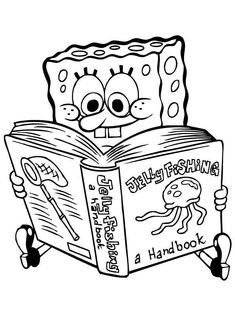 skateboard spongebob squarepants coloring page spongebob coloring