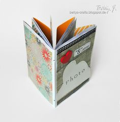 "Bettys crafts: envelope album, ""You and I, the most beautiful love story!"""