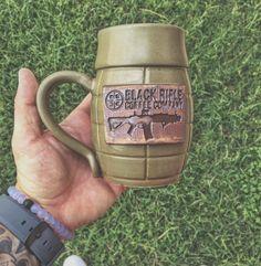 Coffee Talk, Coffee Cups, Black Rifle Coffee Company, Coffee Review, Premium Coffee, Coffee Pictures, Coffee Signs, Coffee Quotes, Mug Shots