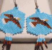 """""""Soaring Eagle Earrings"""" Image"""