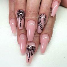 Coffin nails @ korten stein ☻ nails unghie gel, unghie e unghie stiletto. Pink Stiletto Nails, Pink Nails, Matte Nails, Acrylic Nails, Coffin Nails, Pink Coffin, Polish Nails, Acrylics, Fabulous Nails