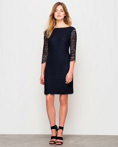 Dress to Express - Online Style Clothing, Shoes & Jewelry Dresses For Work, Formal Dresses, Ideias Fashion, Cold Shoulder Dress, Shopping, Wedding, Black, Style, Shoulder Dress