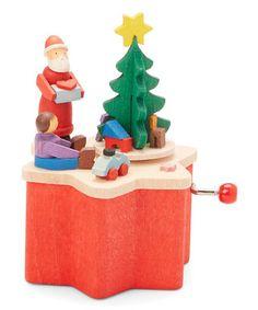 Santa Crank Music Box