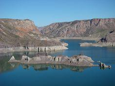San Rafael - Lago Valle Grande. Mendoza, Argentina (ph by GRC)