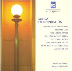 "Donald Shanks, ""Songs of Inspiration,"" album cover, 2008"