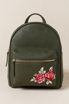 Brooke Rose Embroidered Backpack
