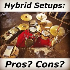 Happy Friday friends! It's survey time. Do you use a hybrid drumming setup? How do you feel that it adds to or might take away from certain aspects of your acoustic set? Let us know in the comments and we'll print some of your responses in an upcoming issue of #moderndrummer magazine! #drum #drums #drumming #hybrid
