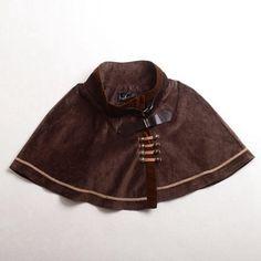 Victorian Steampunk Mini Cape /Short Cloak/Capelet – Go Steampunk Steampunk Fashion Women, Everyday Steampunk, Victorian Steampunk, Capelet, Ten, Everyday Fashion, Cool Outfits, My Style, Cloaks